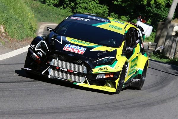 08 Marek Rybnicek Ford Fiesta WRC Evo na Zameckem vrchu MANN FILTER 2018